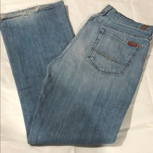 7 For All Mankind Jeans - Light Wash